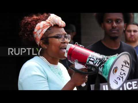USA: 'Blue lies matter'– St. Anthony protesters demand justice for Philando Castile