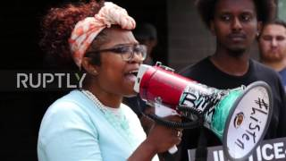 USA  'Blue lies matter'– St  Anthony protesters demand justice for Philando Castile