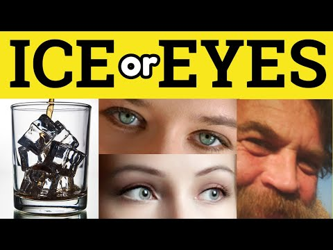 S or Z - Ice or Eyes - S and Z Pronunciation - Phonetics