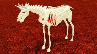 СКЕЛЕТ МАЛЕНЬКОГО ПИТОМЦА Лошадки #2 Милый единорог с русалкой. Лошадки Пони в ROBLOX с КИДОМ #КИД