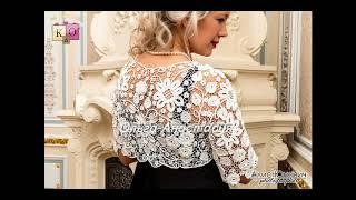 ирландское кружево_  Irish lace  by Olga Anastasia_ Болеро