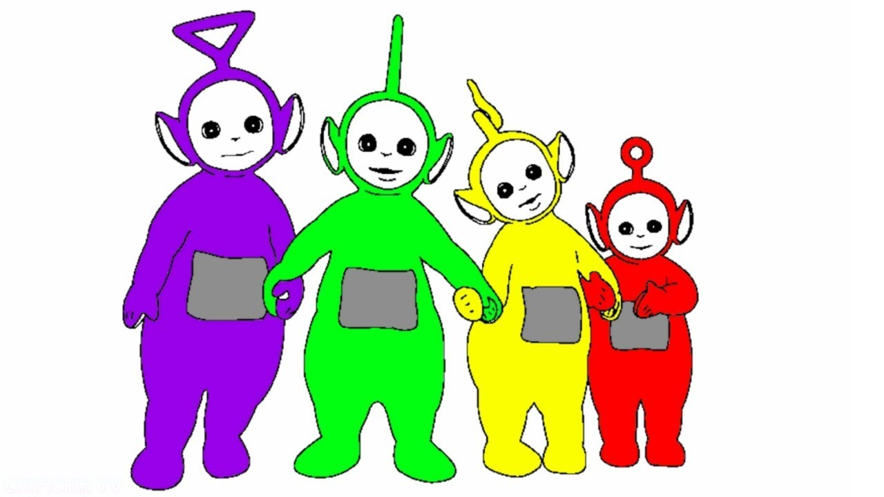 Teletubbies Coloring Pages - Get Coloring Pages | 720x1280