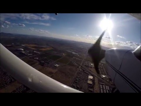 Flying around the Phoenix area