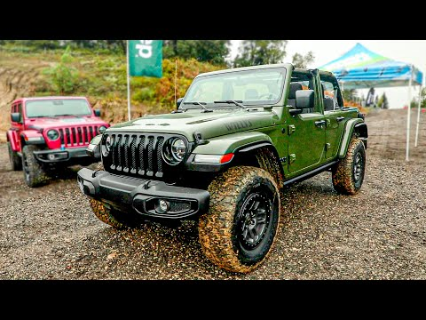 Jeep Wrangler Willys (2022) with Xtreme Recon 35-inch Tire Package