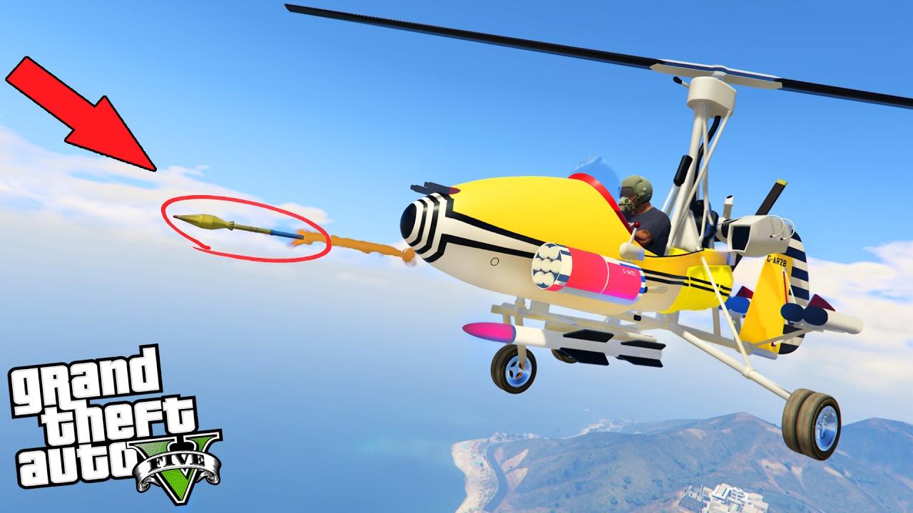 Elicottero Gta 5 : L elicottero piÙ strano potente su gta ita nuovo