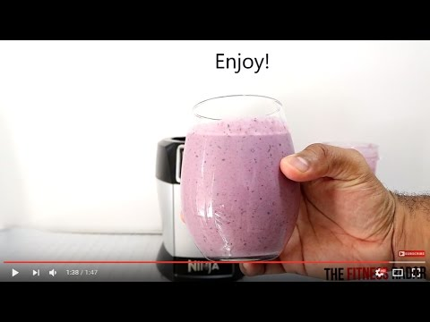 HOW TO MAKE A QUICK HEALTHY SMOOTHIE WITH THE NUTRI NINJA