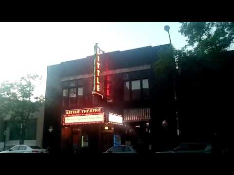 🎥 The Little Theater 🎦 (With Its New Marquee) 🎬 on East Avenue in Rochester, New York, June 20th,