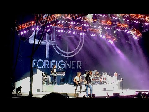 Foreigner feat. Cheap Trick *Medley* Chula Vista, CA 08/29/2017 HD