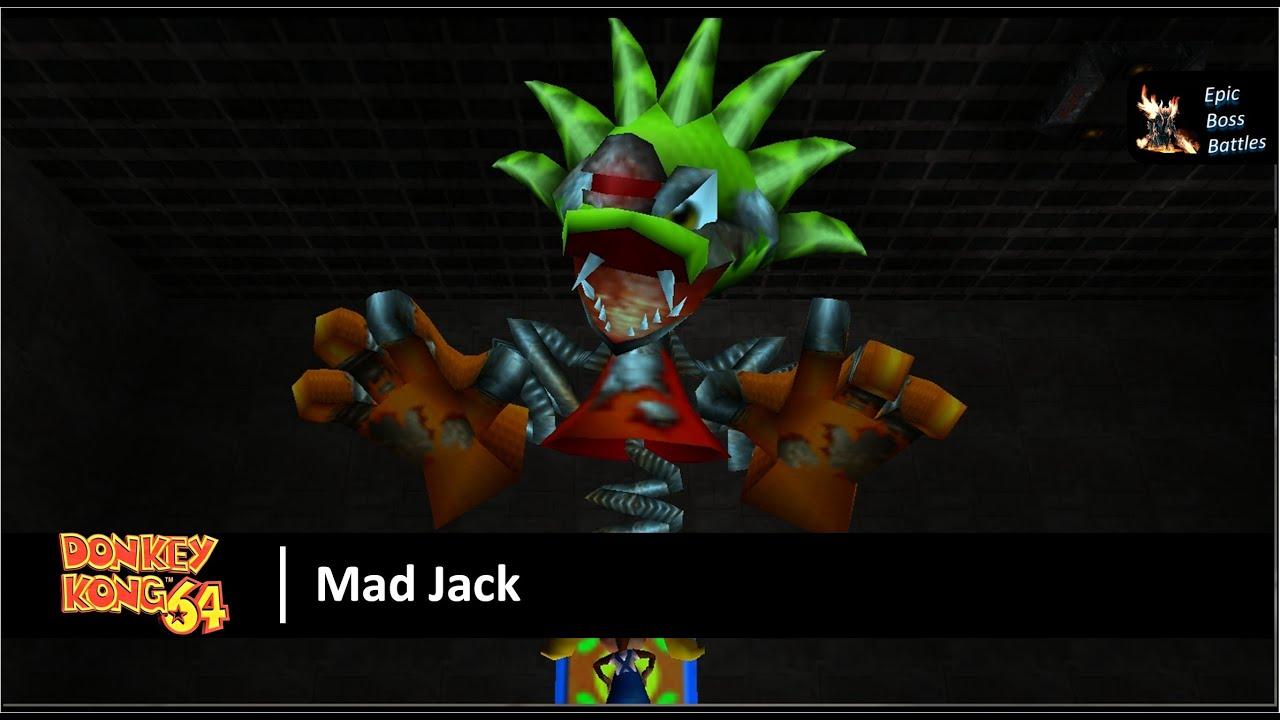 Donkey Kong 64 - Mad Jack Boss Battle - YouTube  Donkey Kong 64 ...