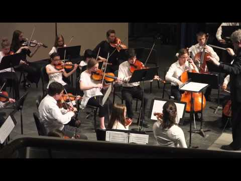 Korean Folk Song Variants Arr Elliot Del Borgo performed by UNH YSO Concert Orchestra, Dr David Upha