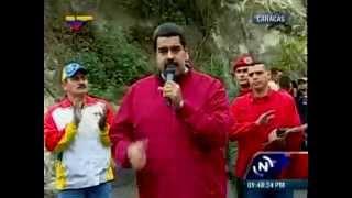 Nicolás Maduro fustiga a Rajoy 24 10 2014