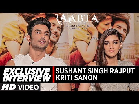 Exclusive Interview :  Raabta | Sushant Singh Rajput & Kriti Sanon