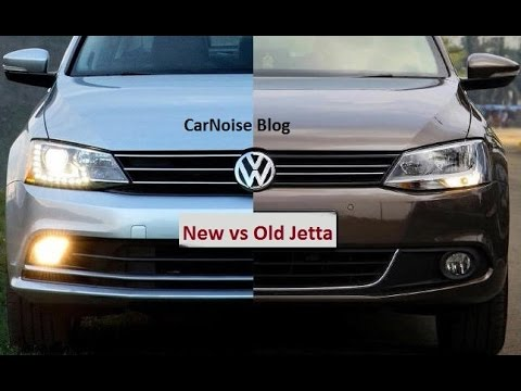 Comparison 2015 Vw Jetta Facelift New Vs Old Youtube
