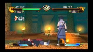 Naruto Gekitou Ninja Taisen Special Letsplay Gameplay Comentado + Download Link