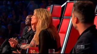Evan Moring - How Deep Is Your Love - The Voice Australia Season 2