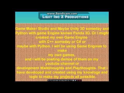 LightIncZ Productions Channel Intro!