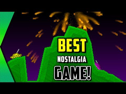 Pocket Tanks - BEST MOBILE ARTILLERY GAME (CROSS PLATFORM NOSTALGIA OVERLOAD!) | MGQ Ep. 291