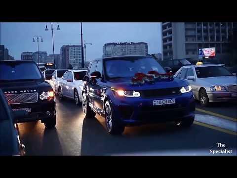 Azerbaijan wedding cortege.. AzTuning Car..