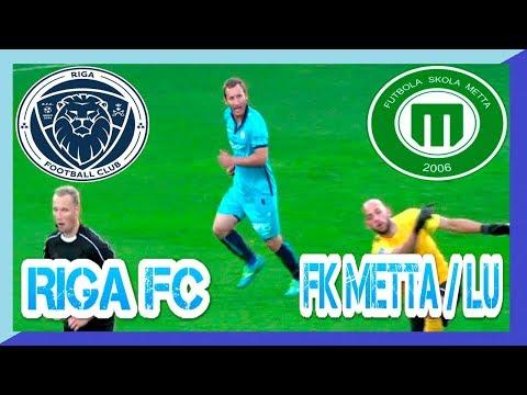 RIGA FC - FK Metta LU 13.08.2017 RIGA Football Club uzvar SynotTip Virslīgas 18 kārtas spēlē
