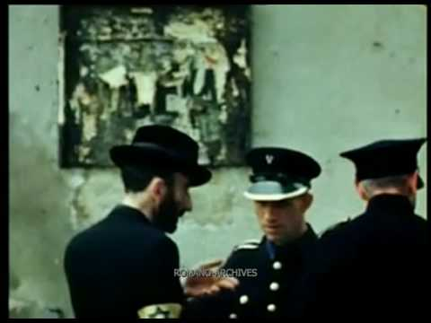 1939 Poland - Market Day and Jews In Occupied Krakow - German Amateur Film