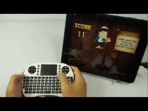 Безжична клавиатура RII 8 MINI за таблети, телевизионни кутии, конзоли и други 12