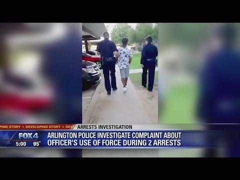 Arlington Police investigating arrest involving teens