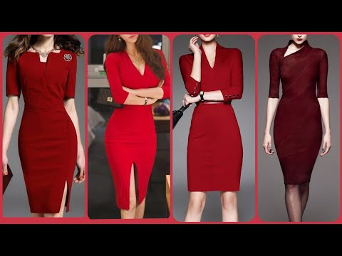 beautiful-trendy-long-sleeves-knee-length-mini-bodycon-dresses-outfit-for-curvy-girls-fashion-2019