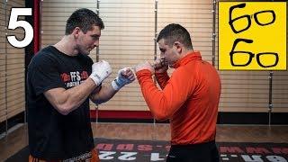Бокс против муай тай! Спарринг Алиев vs Дунец — боксер/боевой самбист против тайского боксера (5/6)