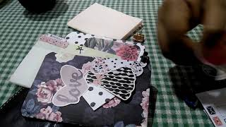 Chic sparrow pocket sized TN set up using the planner society kits.