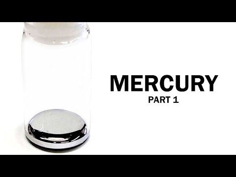 Mercury Metal from Cinnabar (Part 1: The Reaction)