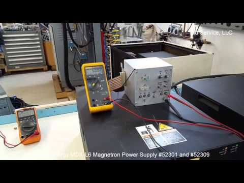 Advanced Energy MDX L6 Magnetron Power Supply #52301 and #52309