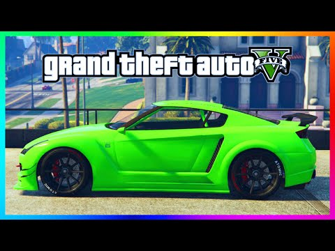 GTA 5 Online Rare Paint Job Guide - Electric Lime, Razer Green & Blazing Blue! (GTA 5 Gameplay)