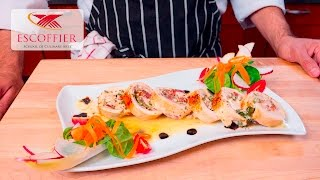 How To Make A Chicken Roulade