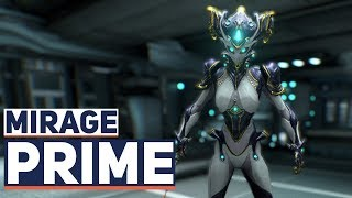 Warframe: Mirage Prime-Leaked (First Look)