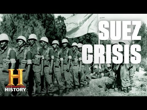 Here's Why the Suez Crisis Almost Led to Nuclear War | History