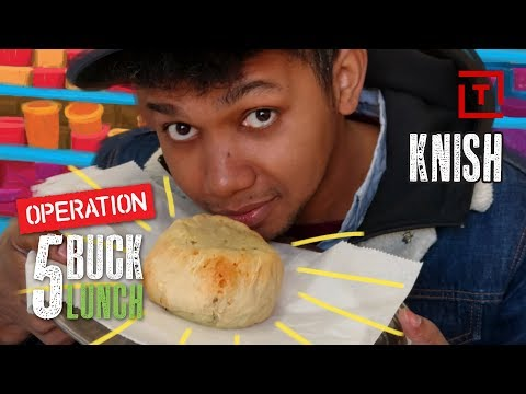 The Best Cheap Knish in New York City || Operation $5 Lunch