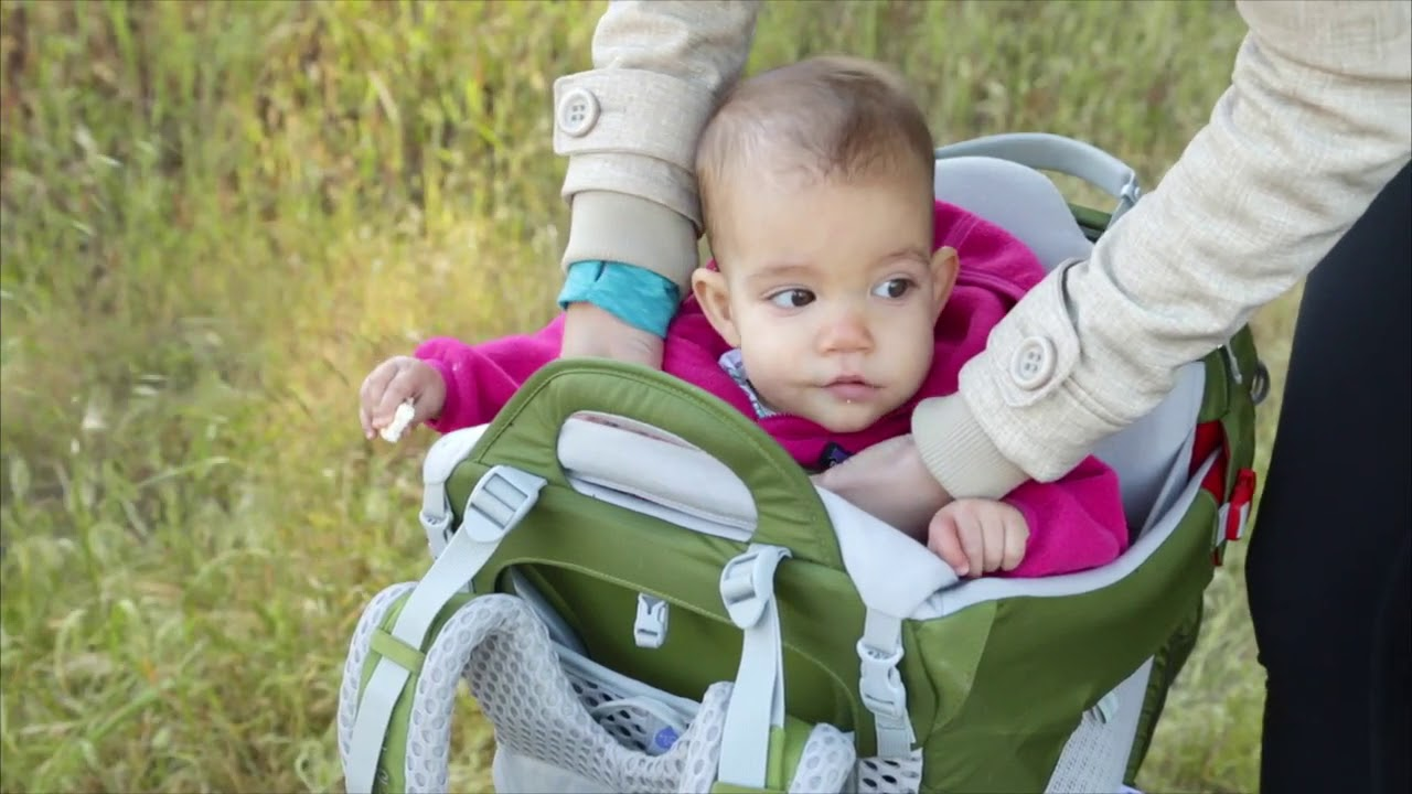 d840a136cd3 Carry Your Child in Comfort With Osprey Poco - YouTube