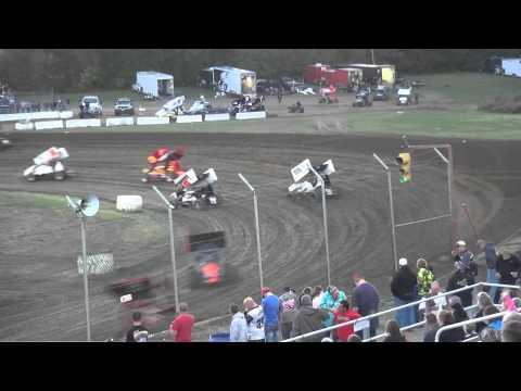Sprint Invaders heat 1 34 Raceway 9/19/15