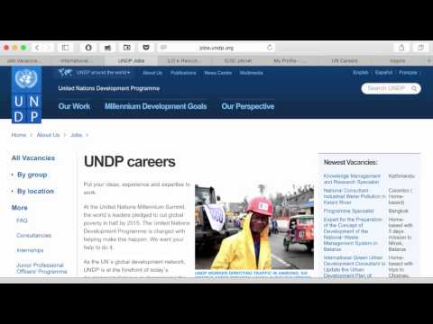 3  Easy UN Jobs Mapping