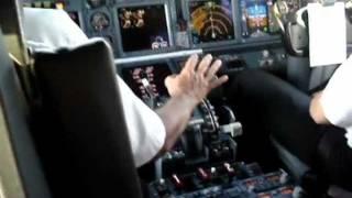 Exclusivo pouso na cabine 737-700 em Campina Grande - PB