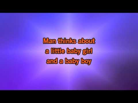 Seal It s a Man s Man s Man s World Karaoke