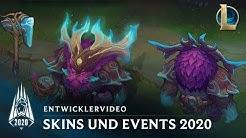 Skins und Events in der Saison 2020   Entwicklervideo – League of Legends