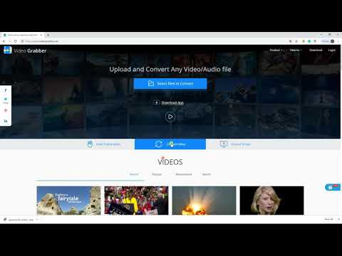 How To Crop Video Online Free With Video Grabber