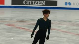 Shoma UNO 宇野 昌磨 - FS practice - 2018 Grand Prix Final 宇野昌磨 検索動画 30