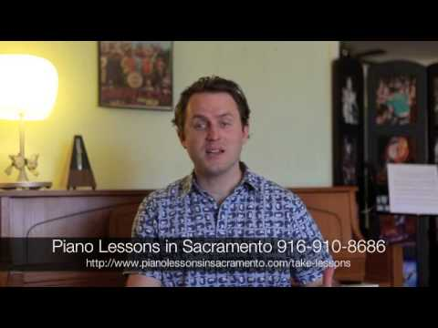 Piano Lessons in Sacramento - Official Welcome Video
