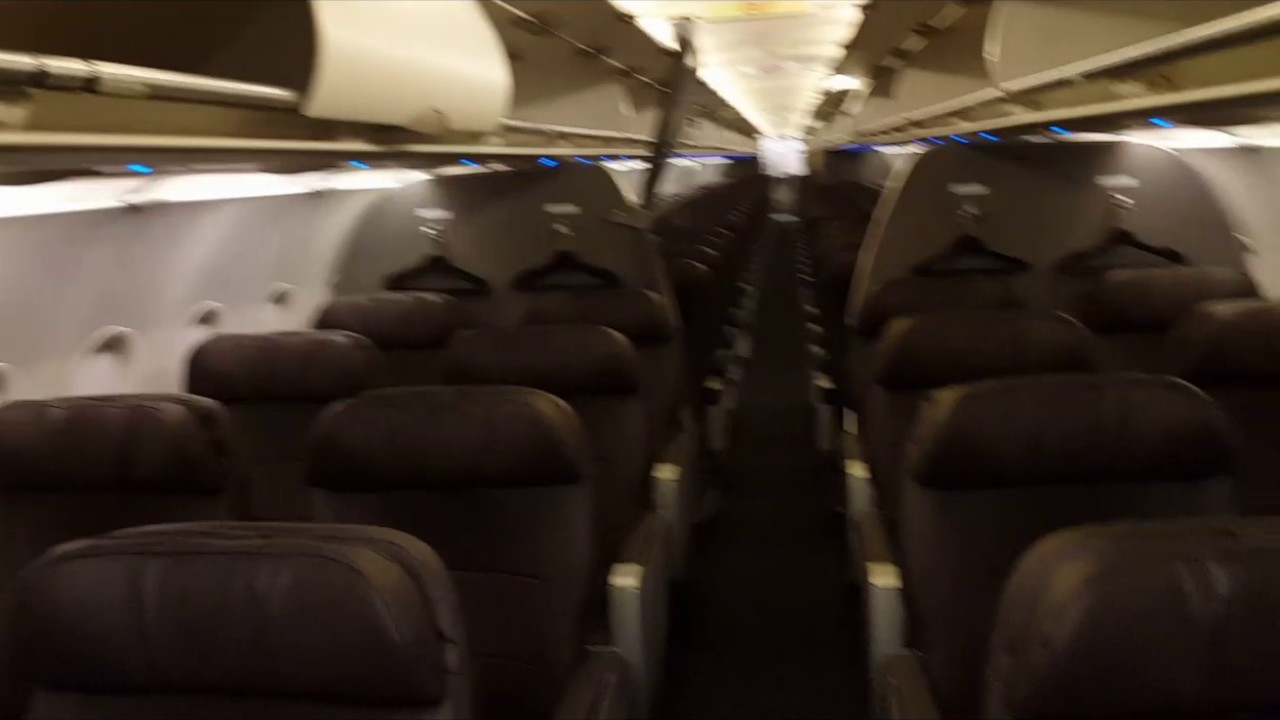American Airlines Cabin Tour Legacy Us Airways Airbus A321 200