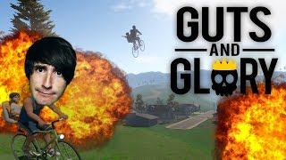 HAPPY WHEELS EN 3D! Guts And Glory - [LuzuGames]