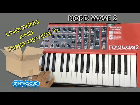 NORD WAVE 2 | UNBOXING + JAM