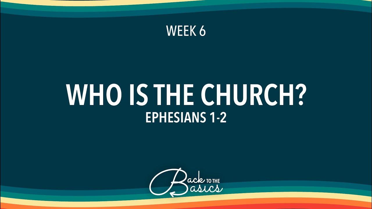 Back to the Basics | Week 6