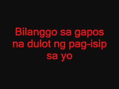 Bilanggo by:Rizal underground (w/Lyrics)
